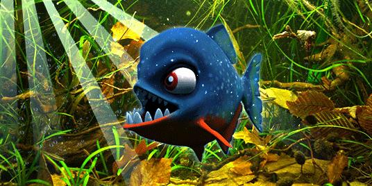 Character Piranha, 3ds Max Model